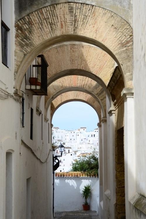 belleza sureña  Vejer de la Frontera, Andalucia España