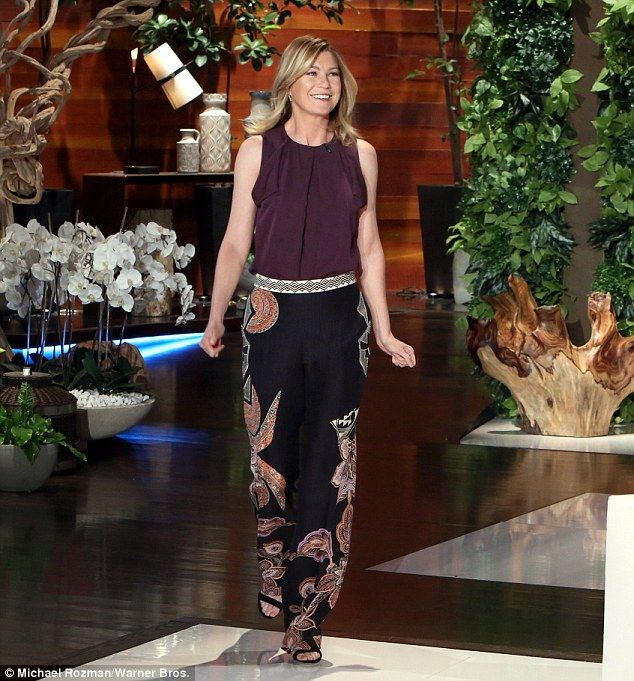 Long-running! The actress -who plays Dr. Meredith Grey on the hit ABC series - dispelled rumours that season 12 would be the last for the show