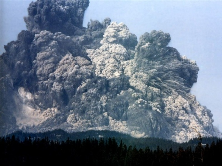 In the long term did humans benefit from the Mount St Helen's eruption other than the economy?