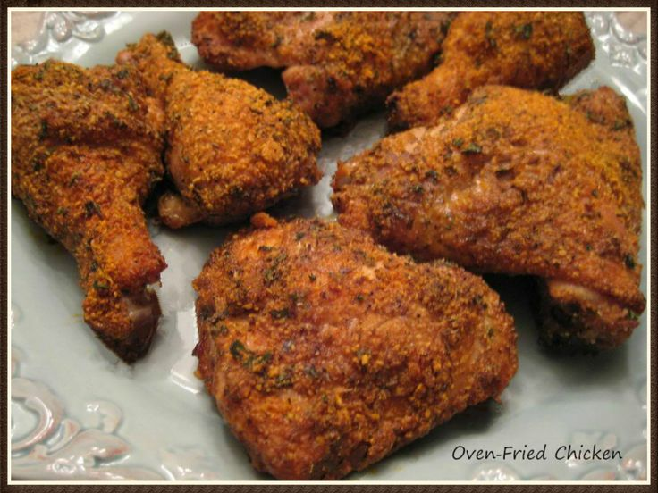 """This Induction friendly recipe is one of the many low-carb ways I like to bake chicken now. This recipe reminds me a little of the KFC Chicken """"original recipe"""" with all the herbs and spices. Cook..."""