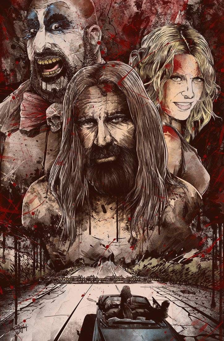 Horror Movie Poster Art : The Devil's Rejects 2005 by Freshdoodle @ deviantart