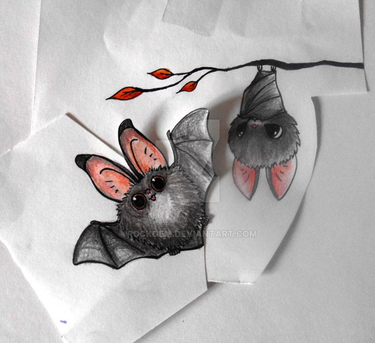 Image result for cute bat tattoo designs