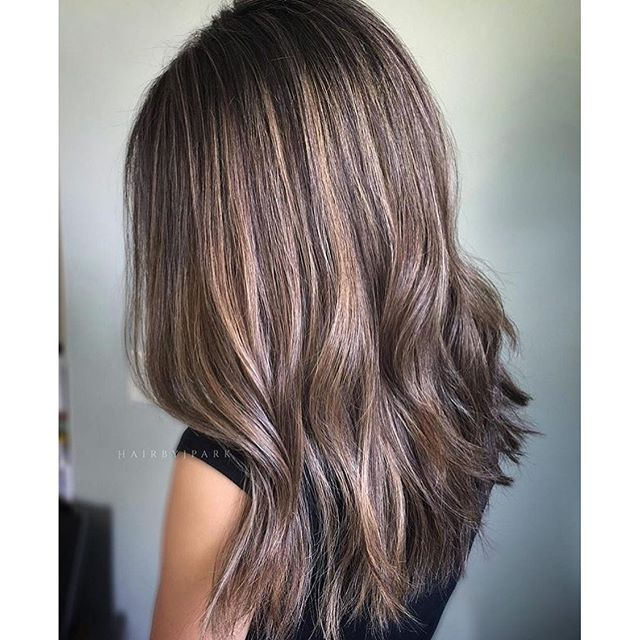 Smoke and Ash. Color by @hairbyjpark  #hair #hairenvy #hairstyles #haircolor #bronde #ash #balayage #highlights #newandnow #inspiration #maneinterest