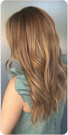 light golden brown - hair color ideas