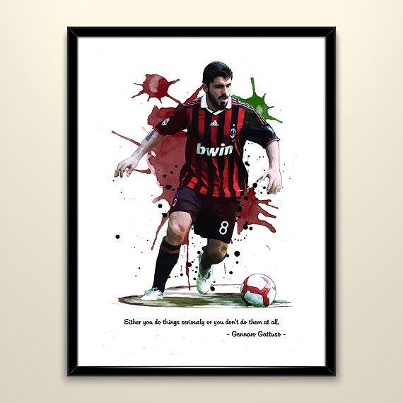 Cristiano Ronaldo Wall Art Print Photo Print Poster Picture Football Milan