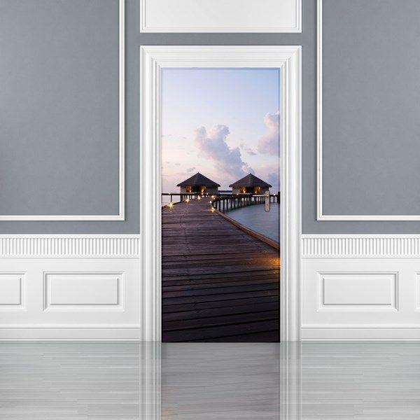 Fotomurales para puertas, descubre una de las mejores forma de decorar y restaurar las puertas, papeles pintados impresos con imágenes que podrás encolar directamente sobre la puerta, más info en http://www.papelpintadoonline.com/es/305-fotomurales-puertas-1-wall