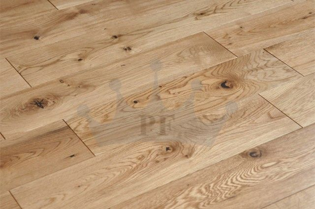 Victoria Solid Natural Oak 90 x 18mm Lacquered Wood Flooring