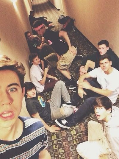 #imagine walking into a hotel, and you are going to your room but then you see this in the hallway blocking you