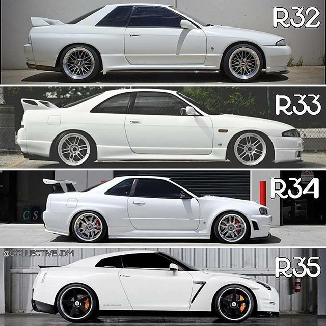 Which One Is Your Favorite Gtr Skyline Gtr Jdm Nissan Instalike Turbo R32 Import Instagood Tuned R34 Godzill Nissan Gtr Gtr Nissan Skyline Gtr R32