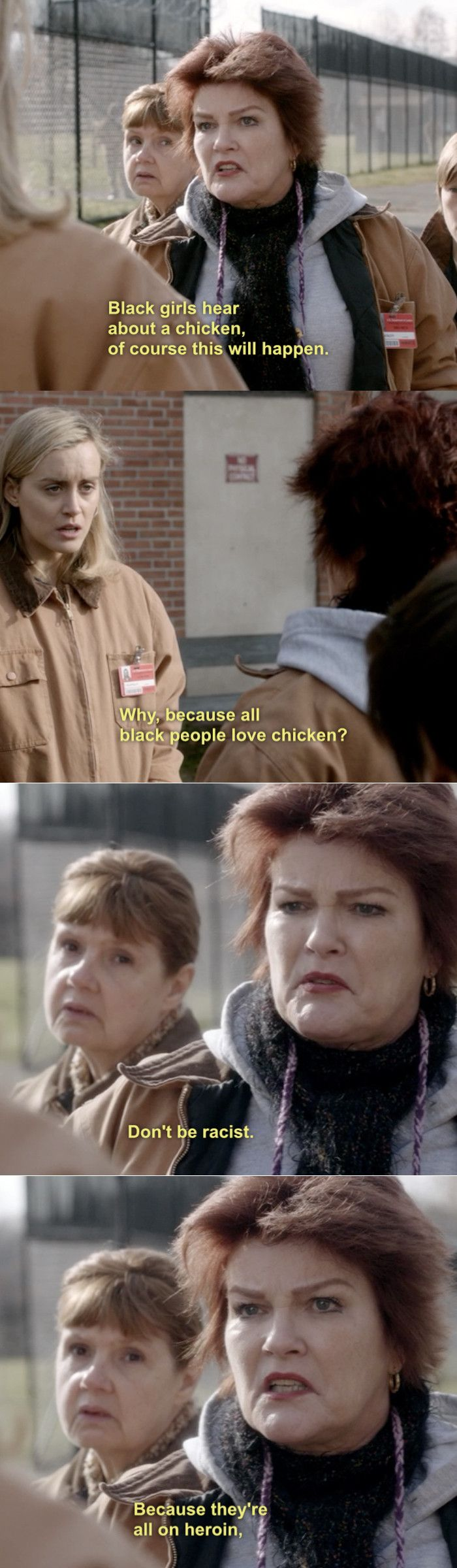 Orange is the New Black - I LOVE this series! #Orangeisthenewblack