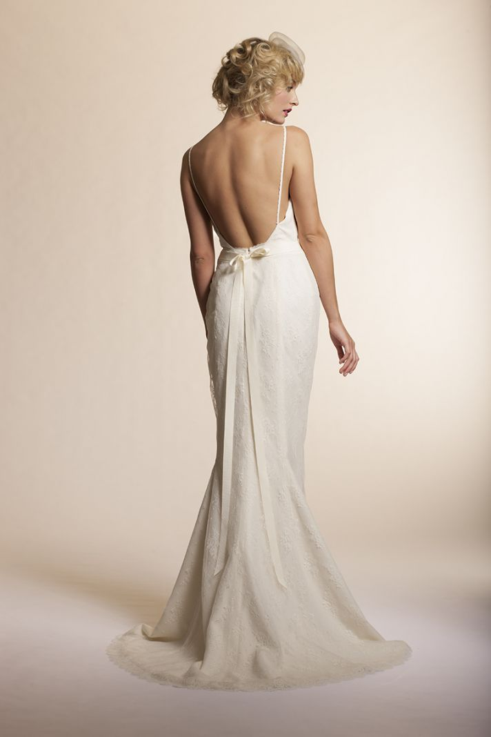 Thinking about a low back for your wedding dress? Check out the @AmyKuschel 2013 collection!