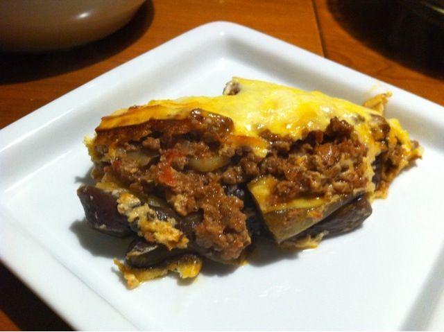 茄子、新じゃが、ひき肉、ヨーグルトソースのグラタンです - 18件のもぐもぐ - ムサカ by kouji1401