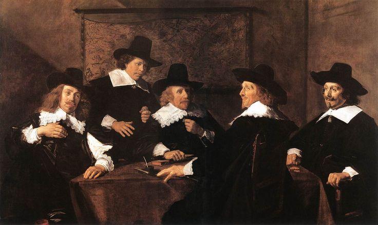 Frans Hals Paintings in Haarlem | Frans Hals, Regents of the St Elizabeth Hospital of Haarlem, 1641