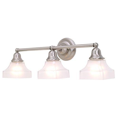 Craftsman Style Bathroom Lighting : Best ideas about nickel finish on american