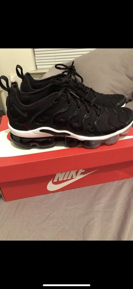 8047a630dd Nike Mens Sz 8.5 Nike Air Vapormax Plus Black/Anthracite-White-New- #fashion  #clothing #shoes #accessories #mensshoes #athleticshoes (ebay link)