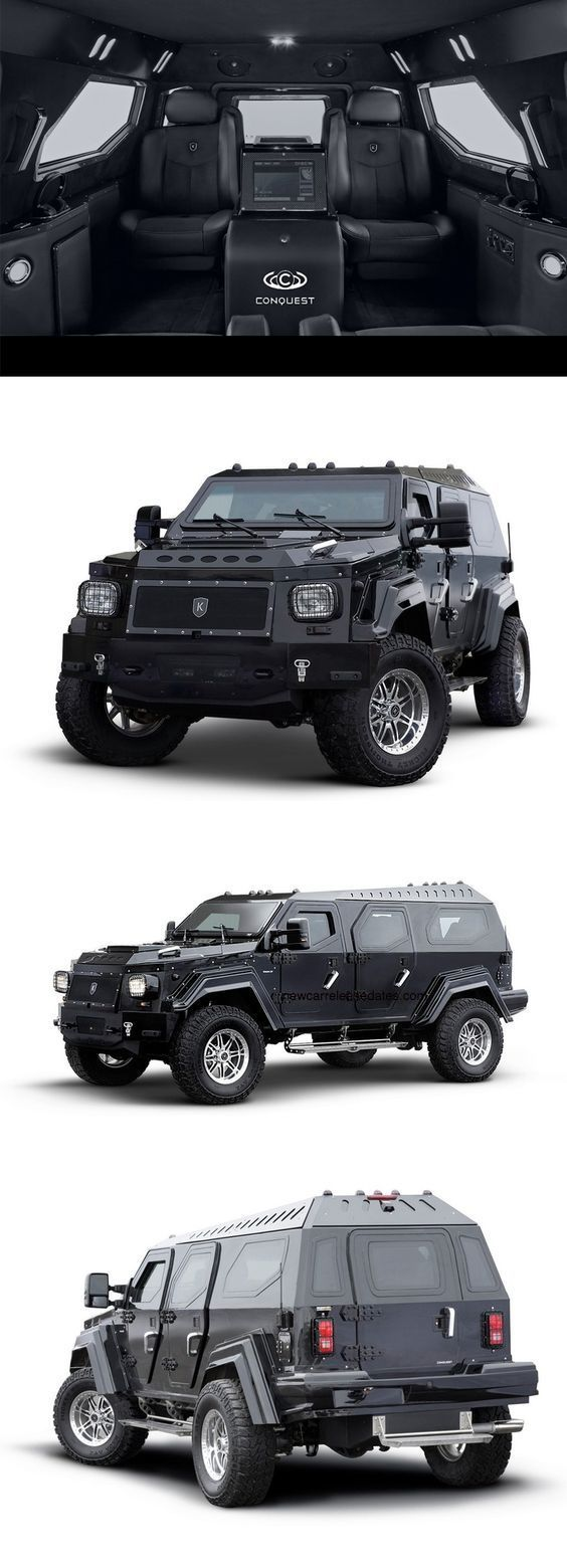 All new 2017 conquest knight xv 2017 concept car photos and images