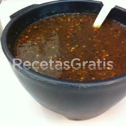 Receta de Salsa de chile morita (tipo taquera)