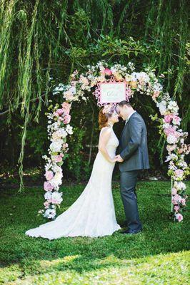 Heirloom Romance #Wedding Arch
