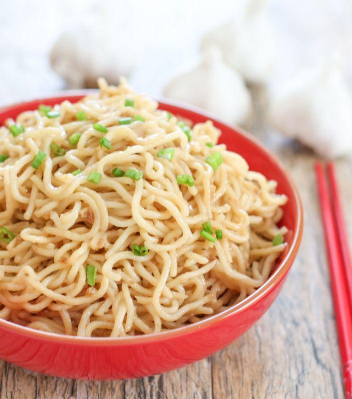 Vietnamese Garlic Butter Noodles | Kirbie's Cravings | A San Diego food blog