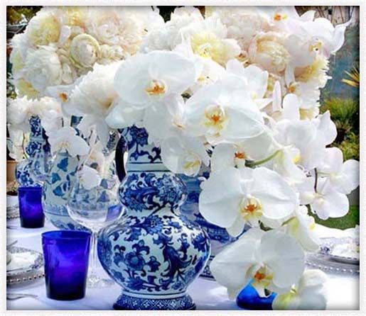 Wedding Flowers Blue And Yellow Theme Ideas For Centerpiece