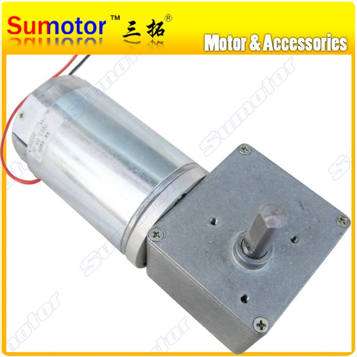 ==> [Free Shipping] Buy Best GW4468 12V 80RPM 24V 160 200RPM Low speed High Torque Worm Geared Reduction Electric dc Motor Industry Machine application robot Online with LOWEST Price | 1691942211