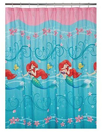 Nice Fun, Trendy And Georgeious Little Mermaid Bathroom Decor