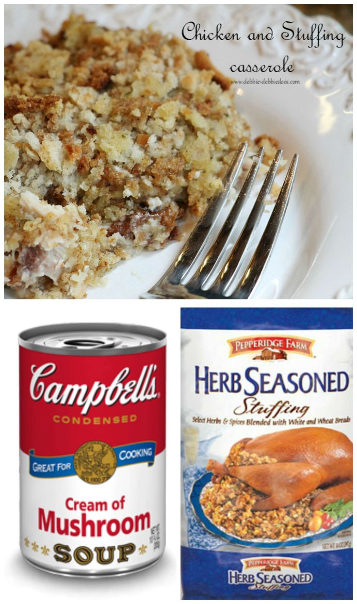 Chicken and Stuffing dump casserole - Powered by @ultimaterecipe