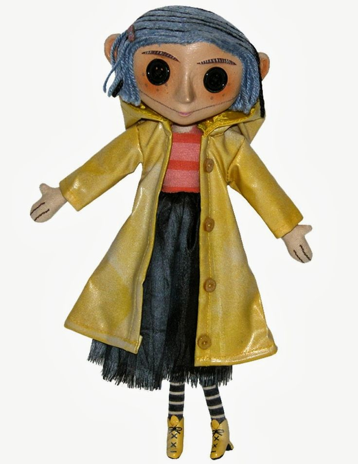 This past weekend we watched the movie, Coraline ! We all adored this deliciously creepy adaptation of Neil Gaiman's book . Our girls wat...