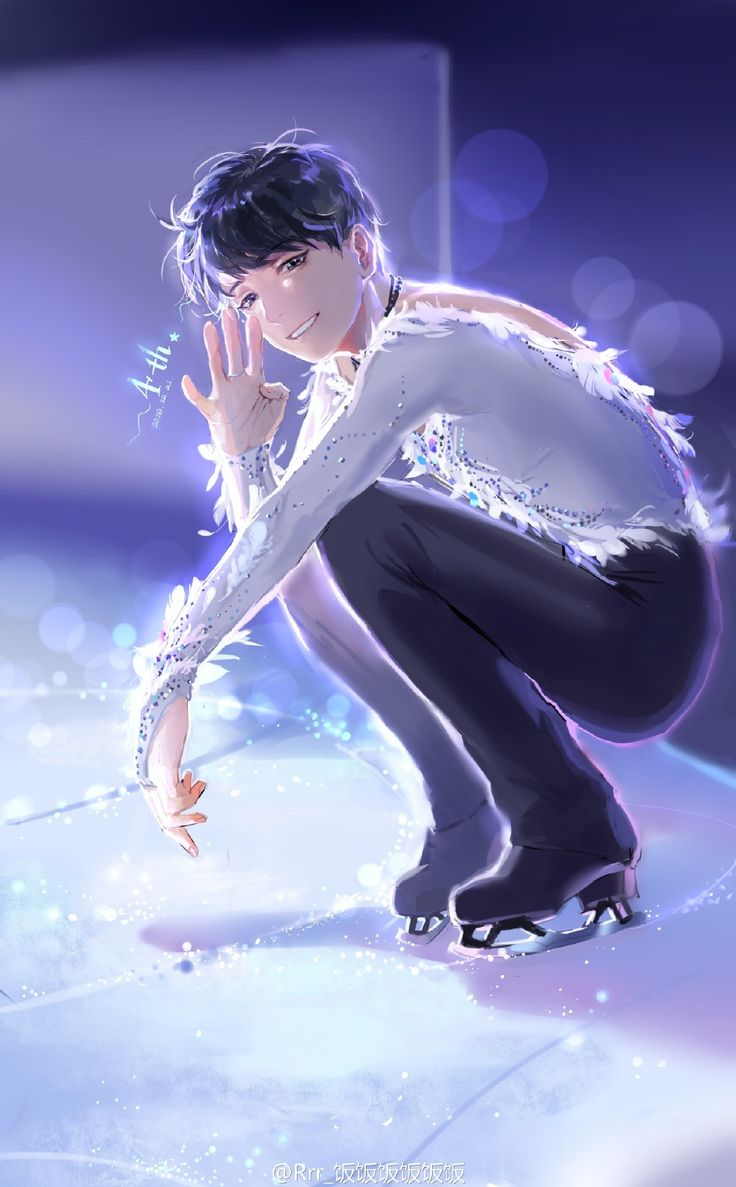 297 best yuzuru hanyu images on pinterest figure permission to post it was granted by the artist support the artist on their page too please dont remove credits dont repostedit the art artist voltagebd Choice Image