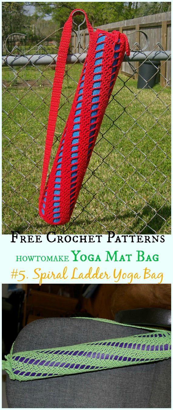 Crochet Yoga Mat Bag Free Patterns Yoga Mat Bag Pattern Yoga Bag Pattern Crochet Bag Pattern Free