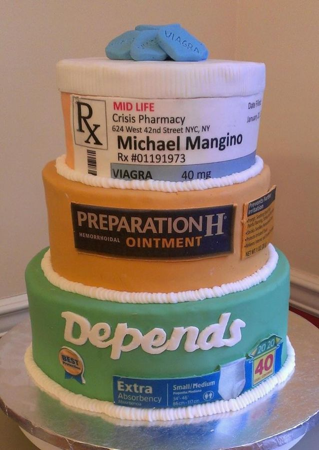 The Best Over the Hill Cake!  LOL!