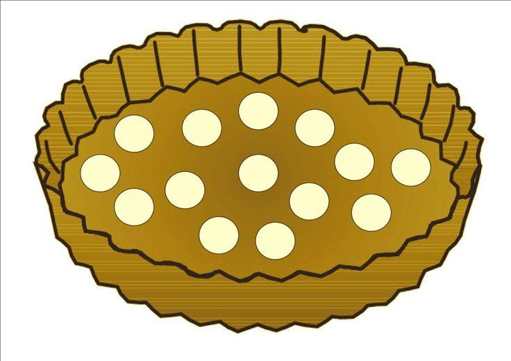Toetjes slagroom maken voor taart met plasticine