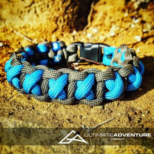 Sky Blue and Gray Cross Thread Paracord Survival Bracelet from www.ultimateadventures.co.za  #skyblue #blue #gray #grey #crossthread #cross #bracelet #paracord #paracord550 #paracordsurvival #paracordsurvivalbracelet #survival #paracordporn #outdoorgear #survivalbracelet #survivalparacord #survivaladventure #edc #everydaycarry #adventure #survivalgear #adventuregear #adventurebracelet #ultimateadventure #ultimateadventureco #ultimateadventures #paracordon #cordcraft #craft #outdoorcraft