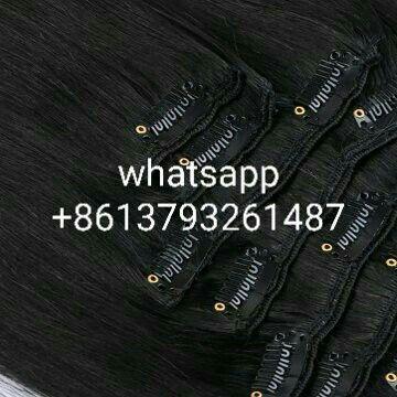 👏👏👏Sandy Hair Factory--brazilian🇧🇷virgin hair--natural black--100g/pc clips hair--silk straight,💪💪💪plz whatsapp me if u like📱 +8613793261487,THX🤗🤗🤗