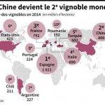 La Chine devient le deuxième plus grand vignoble au monde