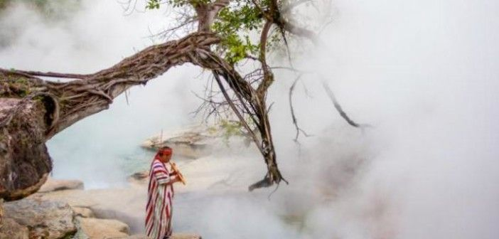 Peru's mysterious 'boiling river' that can burn you to death