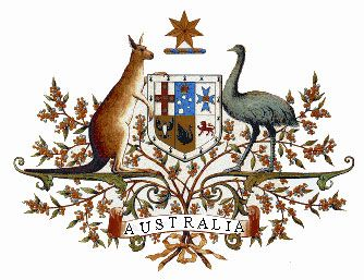 Australian system of government.   Australias coat of arms