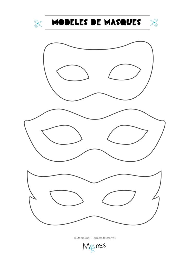 Id es masques carnaval - Idee pour le carnaval ...