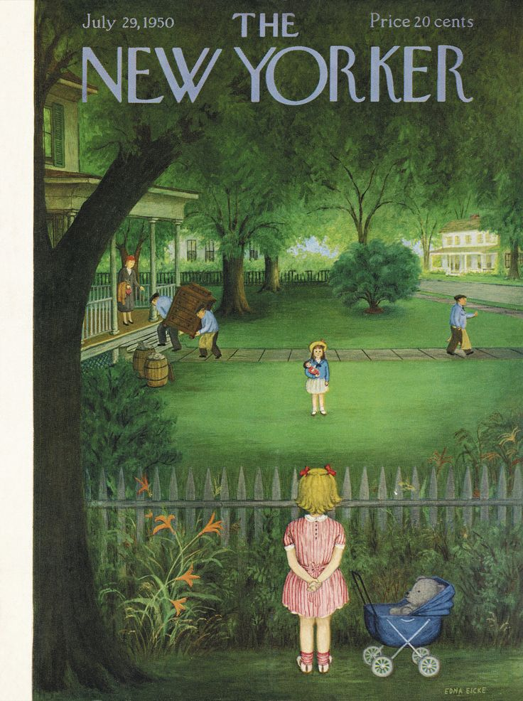 The New Yorker cover: Jul. 29, 1950.