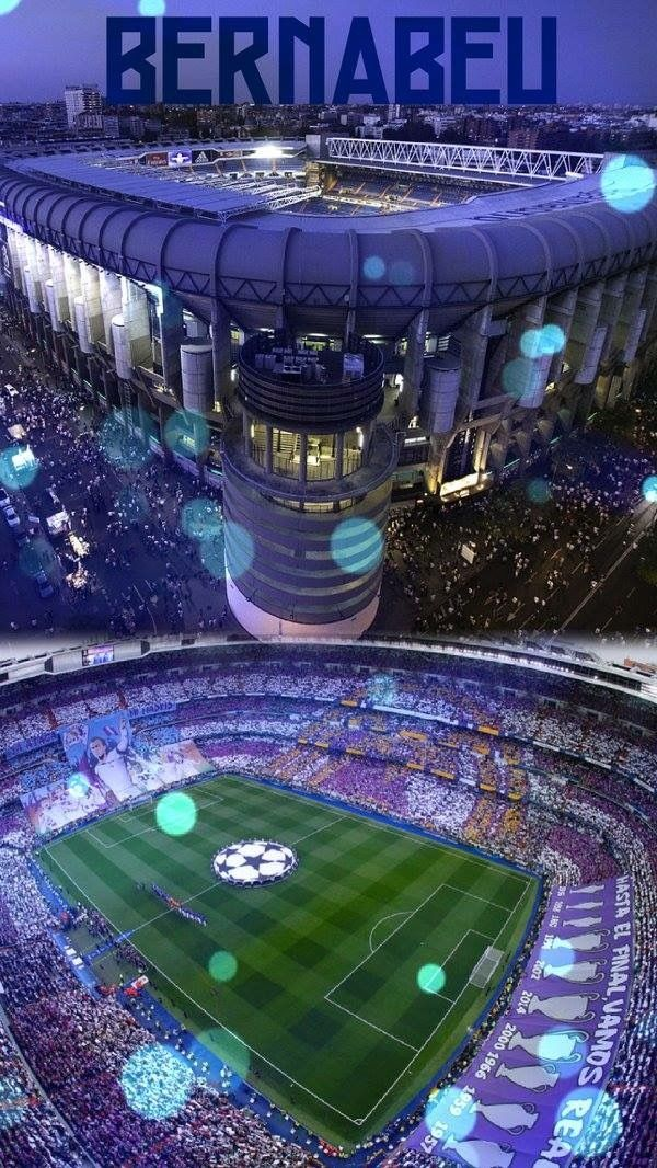 the Bernabeu
