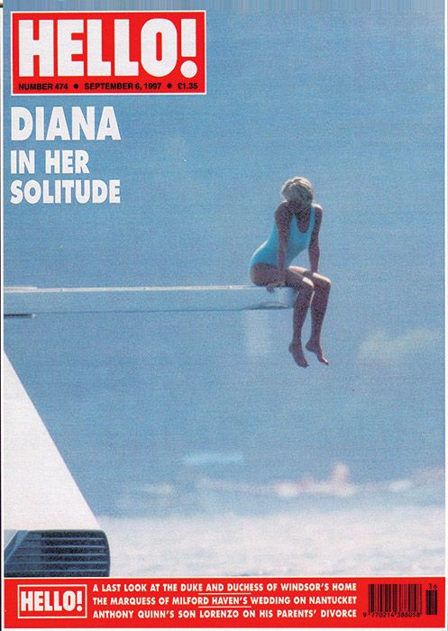 Princess Diana mag cover never published