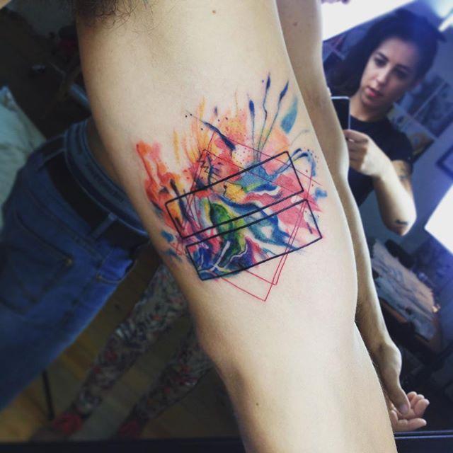 Equality tattoo / igualdade tattoo by Susboom Tattoo #aguarelatattoo #blxckink…