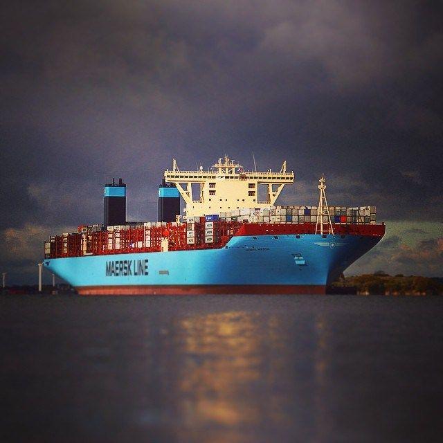Maersks Triple E-class.