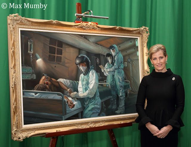 Op Gritrock - painting unveiling at the Royal Military Academy Sandhurst | HRH The Countess of Wessex