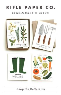 Rifle Paper Co. - RIFLE blog - new Global Greetings social stationeryset