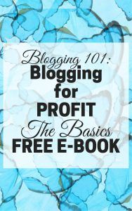 Blogging 101 FREE E-book - a nice, 18 pages e-book that will get you started on our blogging journey! and btw, there's no opt-in required, so get your copy now!
