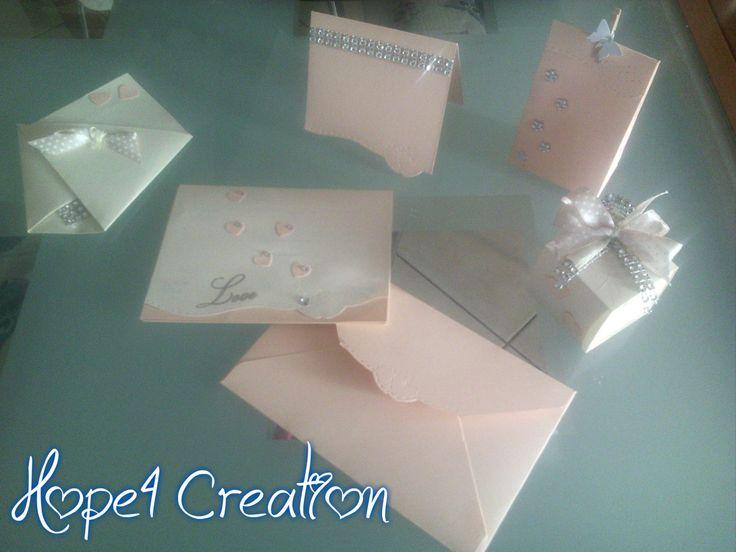 PARTECIPAZIONE CREAM & PESCA di hope4creation su Etsy