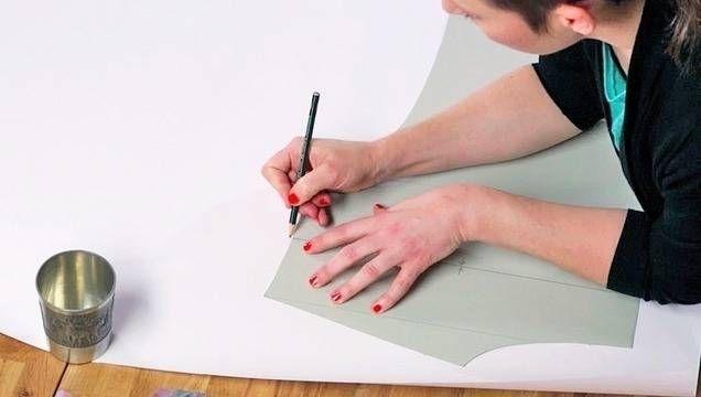 Lieblingsteil kopieren - Nähen lernen - hochwertige Online-Kurse bei makerist. Lernvideo Schnittmuster herstellen