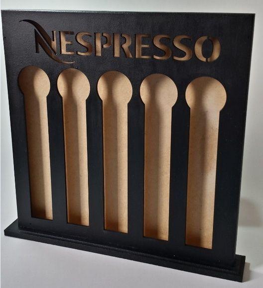 Feito exclusivamente para armazenar cápsulas de café Nespresso!     www.elo7.com.br/decorachados www.facebook.com/decorachados