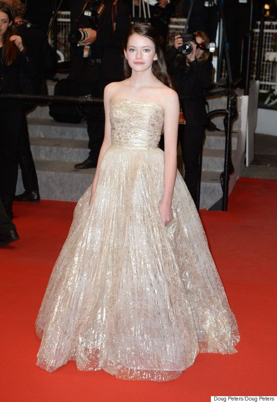 Mackenzie Foy, That Little Kid From Twilight, Is Eerily Beautiful At Cannes
